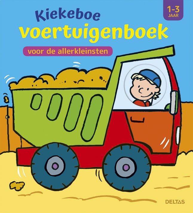Deltas Livre Pour Bebe Kiekeboe Voertuigenboek Voor De Allerkleinsten