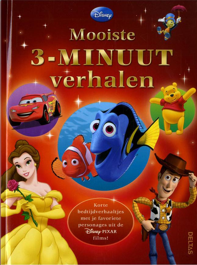 Afbeelding van Disney Mooiste 3-minuutverhalen from Dreambaby
