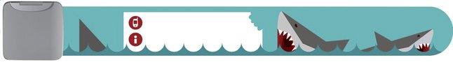 Image pour Bracelet d'identification blue shark à partir de Dreambaby