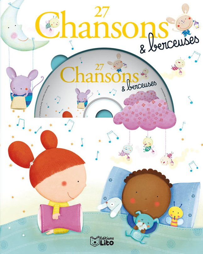 Image pour Livre avec cd 27 Chansons & berceuses à partir de Dreambaby