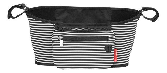 Skip*Hop Sac de rangement pour poussette black/white stripe
