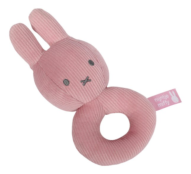 Tiamo Collection Hochet Miffy Pink Baby rib