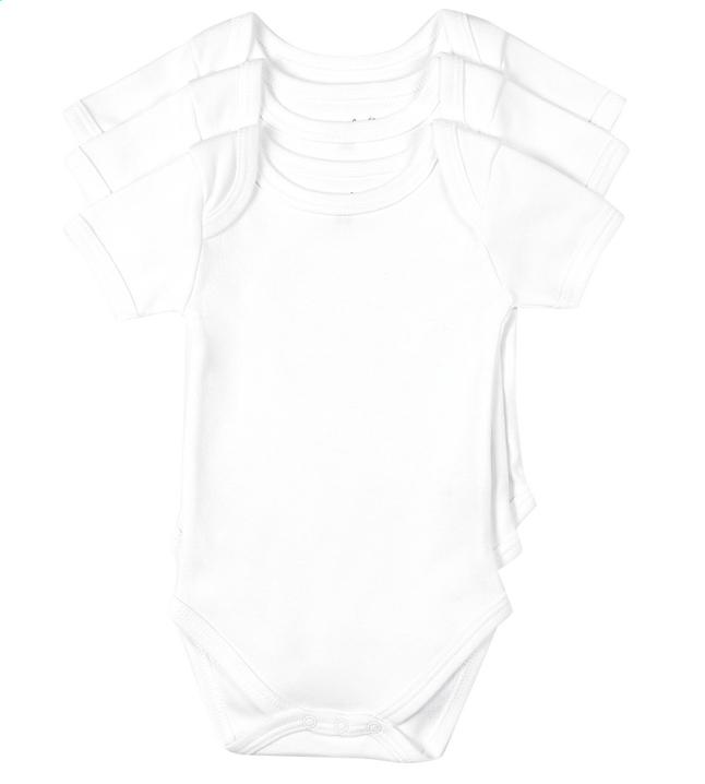 Image pour Dreambee 3 bodys à manches courtes Essentials blanc à partir de Dreambaby