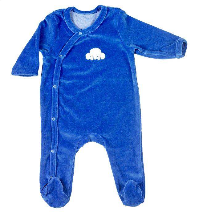 Image pour Dreambee Pyjama Essentials bleu foncé taille 50/56 à partir de Dreambaby