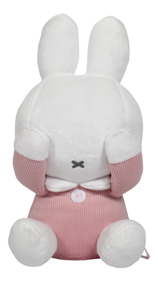 Tiamo Collection Peluche cache-cache Miffy Pink Baby rib 28 cm