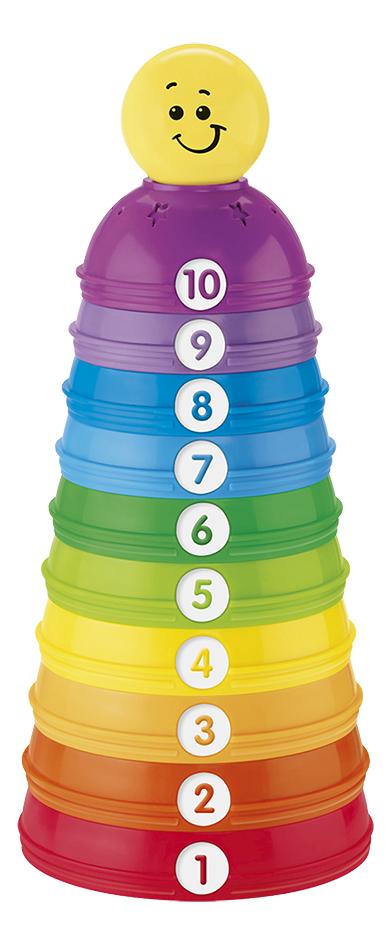 Image pour Fisher-Price Pots à empiler Stack & Roll Cups - 10 pièces à partir de Dreambaby