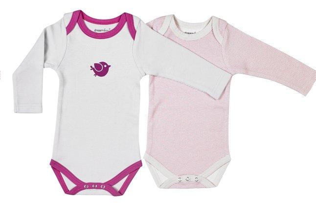 Image pour Dreambee Body à manches longues Essentials ligné - 2 pièces à partir de Dreambaby