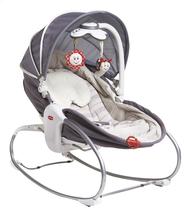 Afbeelding van Tiny Love Relax Cozy Rocker-Napper grijs/beige from Dreambaby