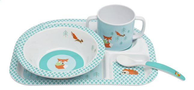 Afbeelding van Lässig 4-delige eetset Little Tree Fox from Dreambaby