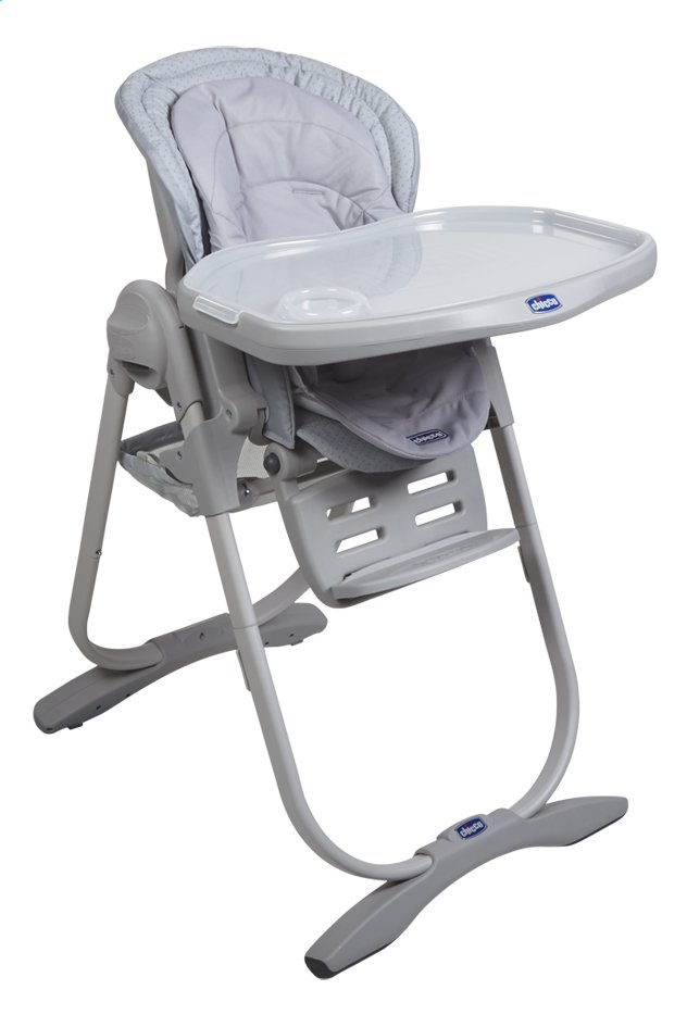 Afbeelding van Chicco Eetstoel Polly Magic light grey from Dreambaby