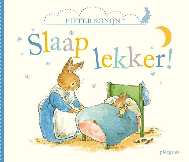 Babyboek Pieter Konijn, Slaap lekker!