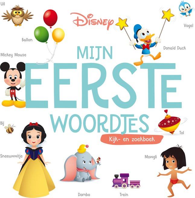 Livre Pour Bebe Disney Mijn Eerste Woordjes
