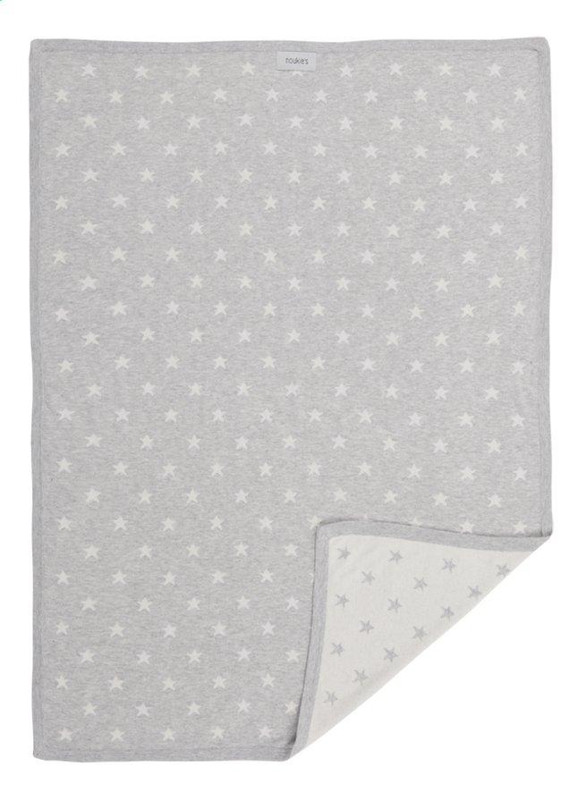 Image pour Noukie's Couverture pour berceau ou parc Jacquard gris clair coton à partir de Dreambaby