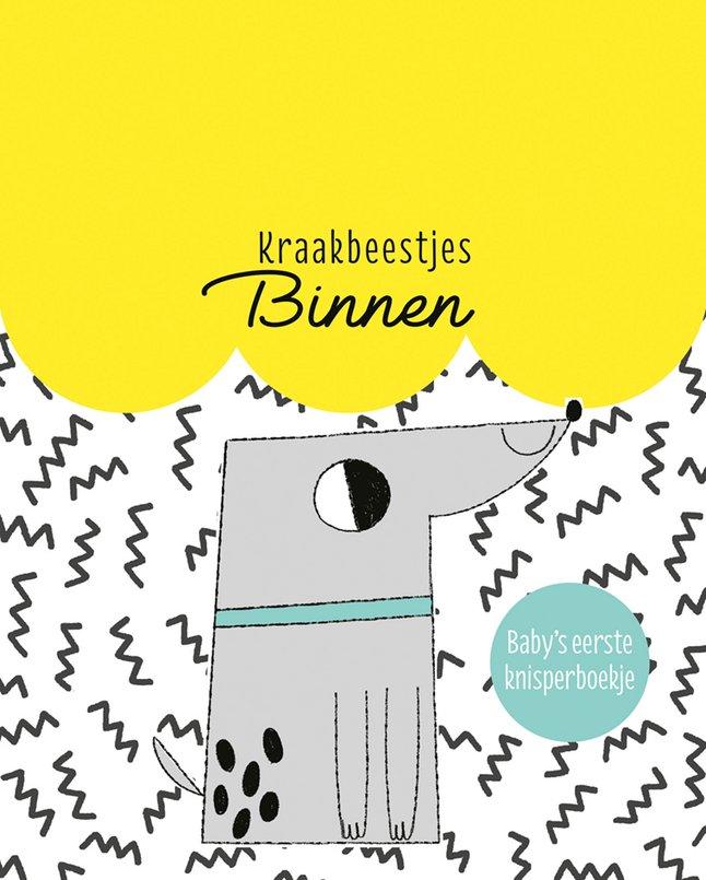 Afbeelding van Knuffelboekje Kraakbeestjes Binnen from Dreambaby