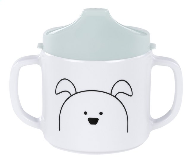 Afbeelding van Lässig Drinkbeker met tuit Little Chums Dog munt from Dreambaby