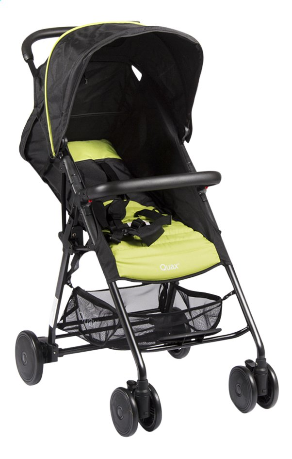 Afbeelding van Quax Buggy Compact XL black/lime from Dreambaby