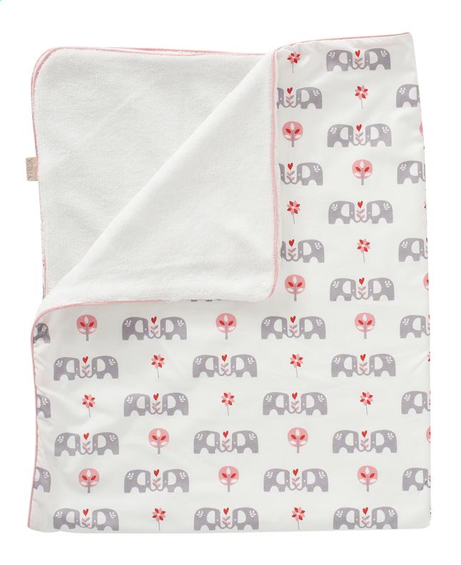 Image pour Fresk Couverture pour lit Elefant pink à partir de Dreambaby