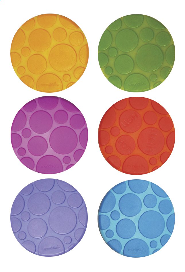 Afbeelding van Munchkin Antislipnoppen Grippy Dots B 5 x L 5 cm - 6 stuks from Dreambaby