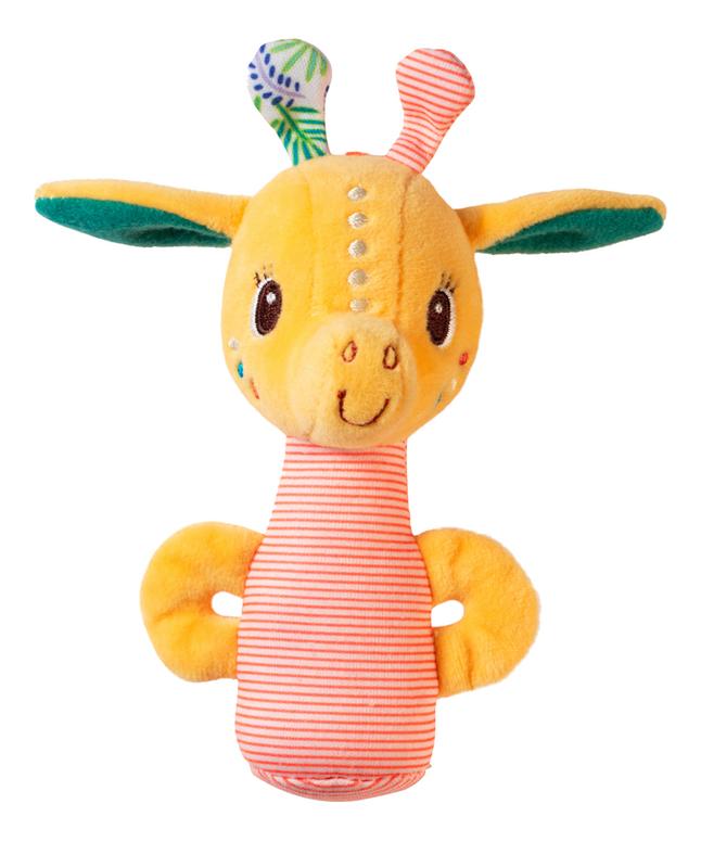 Lilliputiens Mini-hochet Zia la girafe