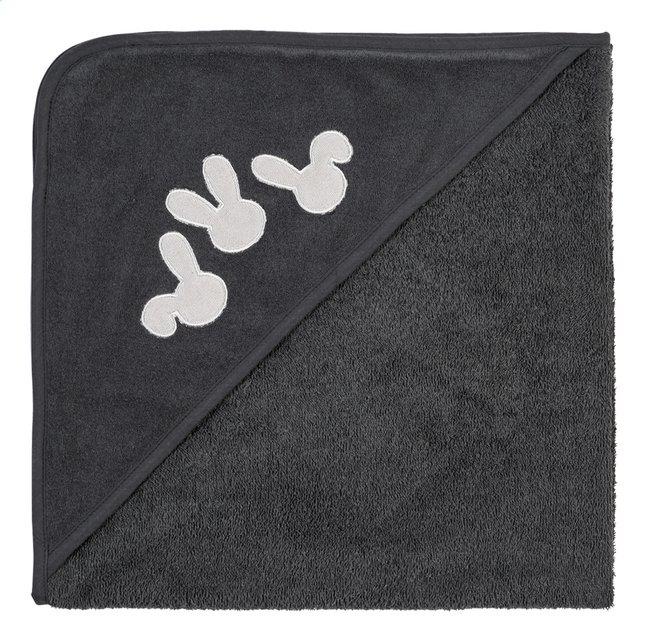 Dreambee Cape de bain et gant de toilette Nino gris foncé