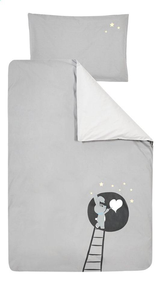 Dreambee Dekbedovertrek Nino grijs