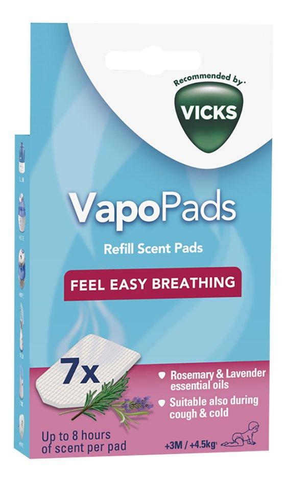 Image pour Vicks Tablette de parfum VapoPads Romarin & Lavande - 7 pièces à partir de Dreambaby