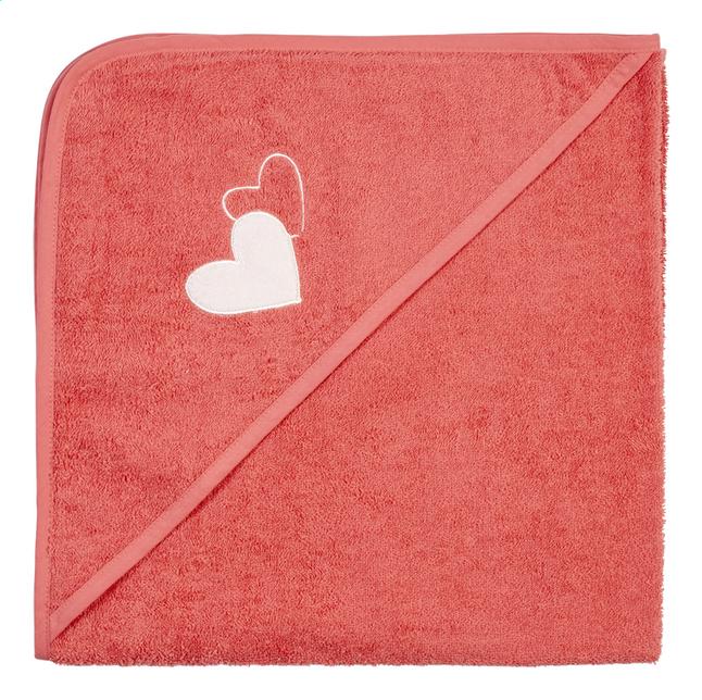 Image pour Dreambee Cape de bain Essentials coeur rose foncé Lg 80 x L 80 cm à partir de Dreambaby