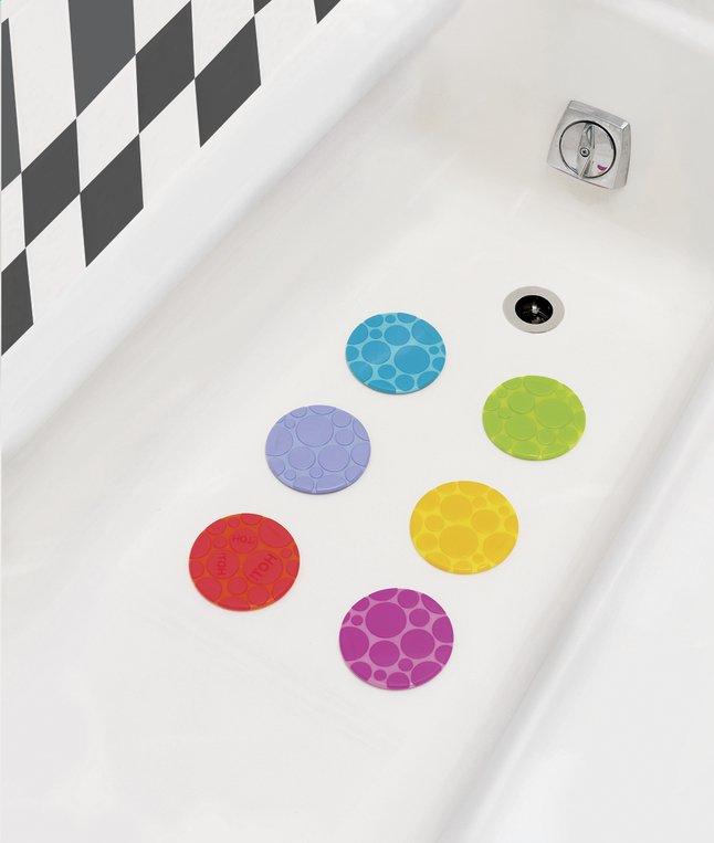 Image pour Munchkin Ronds antidérapants pour le bain Grippy Dots - 6 pièces à partir de Dreambaby