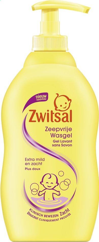 Afbeelding van Zwitsal Wasgel zeepvrij 400 ml from Dreambaby