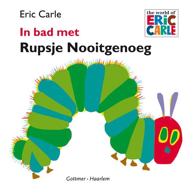 Afbeelding van Badboekje Rupsje Nooitgenoeg from Dreambaby