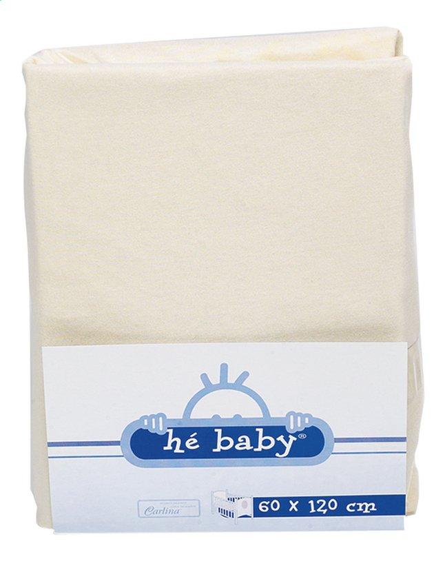 Afbeelding van Hé Baby Hoeslaken van badstof voor bed ivoor from Dreambaby