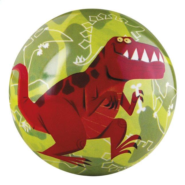 Afbeelding van Crocodile Creek Rubberen bal T-rex 10 cm from Dreambaby
