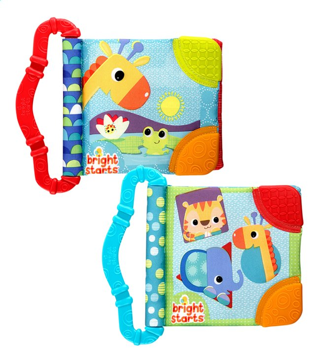 Afbeelding van Bright Starts Knuffelboekje met bijtring Teeth & Read from Dreambaby