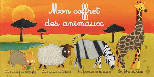 Afbeelding van Boek Mon coffret des animaux from Dreambaby