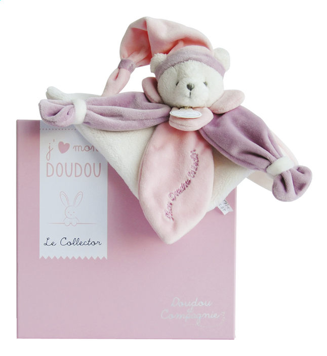 Afbeelding van Doudou et Compagnie Doudou J'aime mon doudou roze from Dreambaby