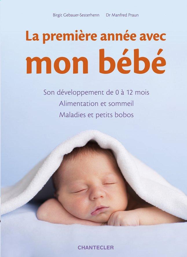 Afbeelding van Boek La première année avec mon bébé - Gebauer-Sesterhenn Birgit from Dreambaby