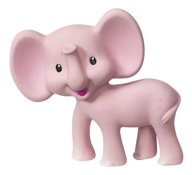Infantino Bijtspeeltje Squeeze and Teethe Pink elephant