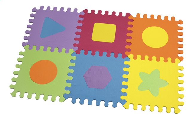Infantino Puzzeltegels Main Soft foam