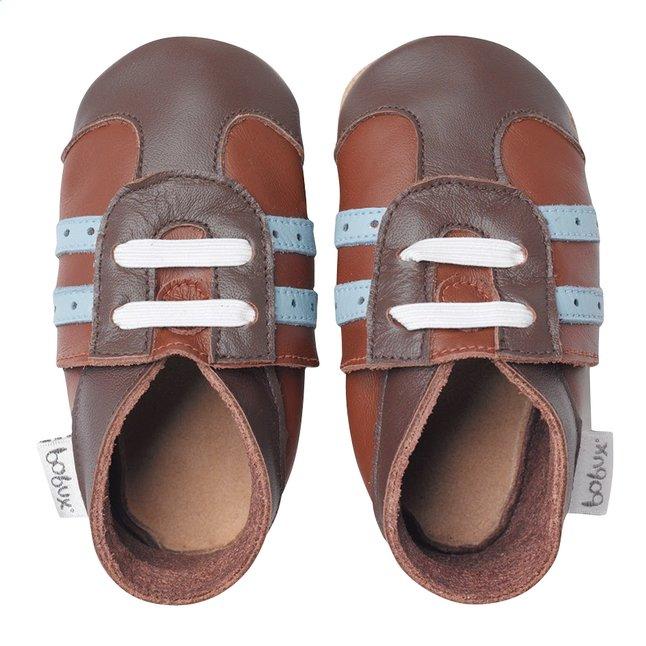 Afbeelding van Bobux Schoentjes Soft soles Tan Sport Shoe bruin from Dreambaby