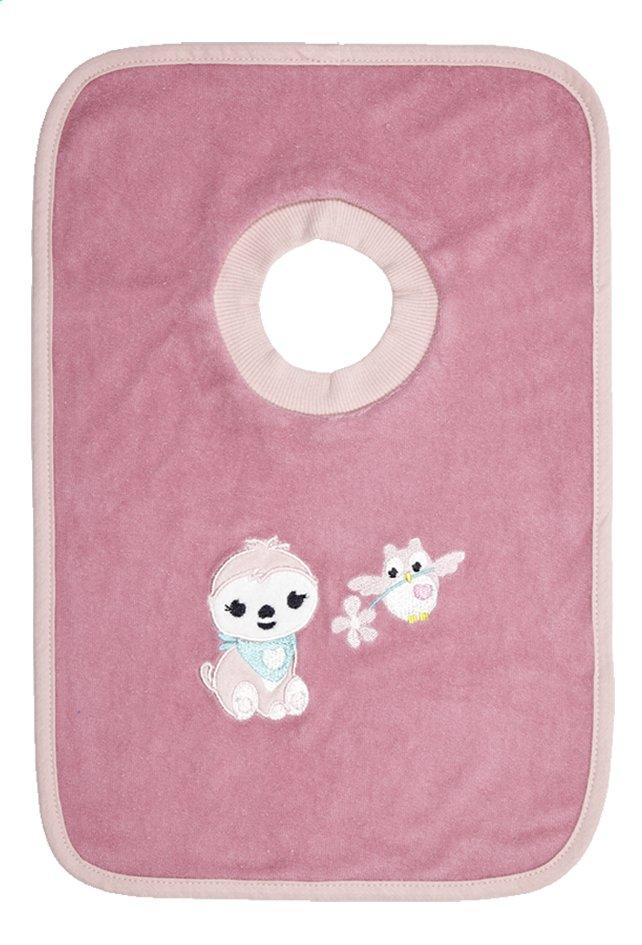 Image pour Dreambee Bavoir Lila & Lou Lila à col pull-over rose foncé à partir de Dreambaby