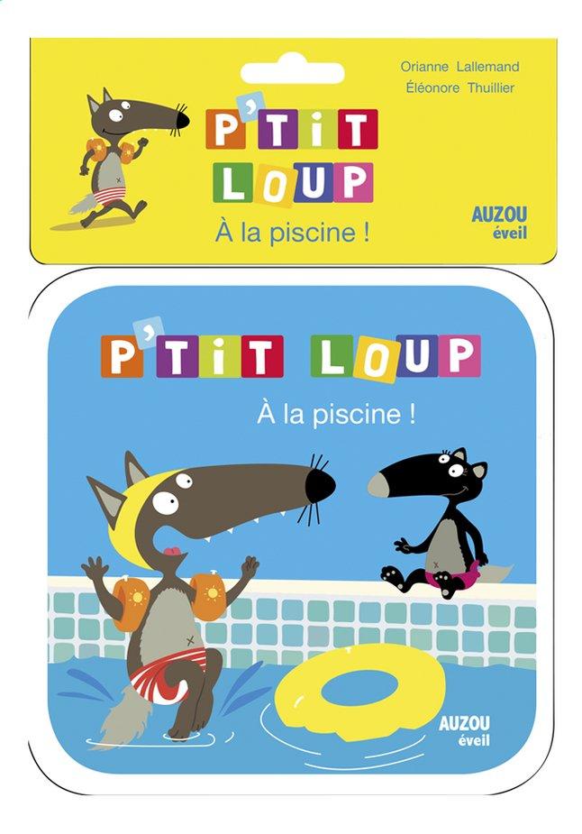Image pour Livre de bain P'tit Loup À la piscine ! à partir de Dreambaby