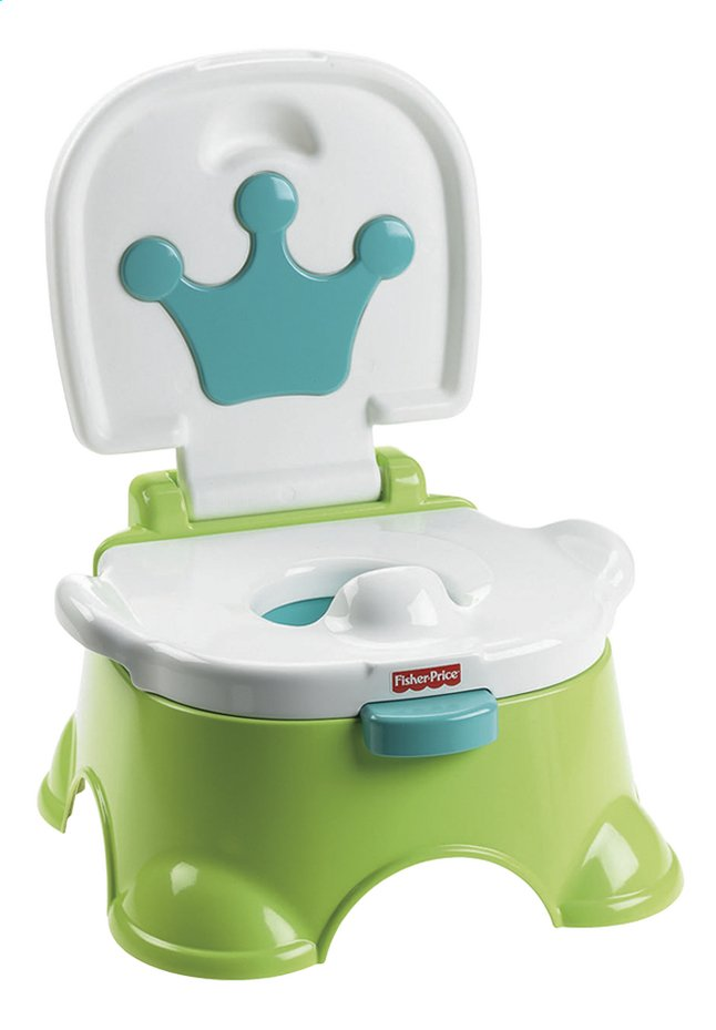 Image pour Fisher-Price Petit pot musical 3-en-1 Royal Potty vert/blanc à partir de Dreambaby